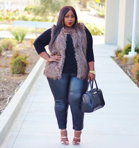 Stylish plus size outfits for winter 2017 126