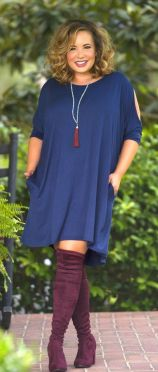 Stylish plus size outfits for winter 2017 129