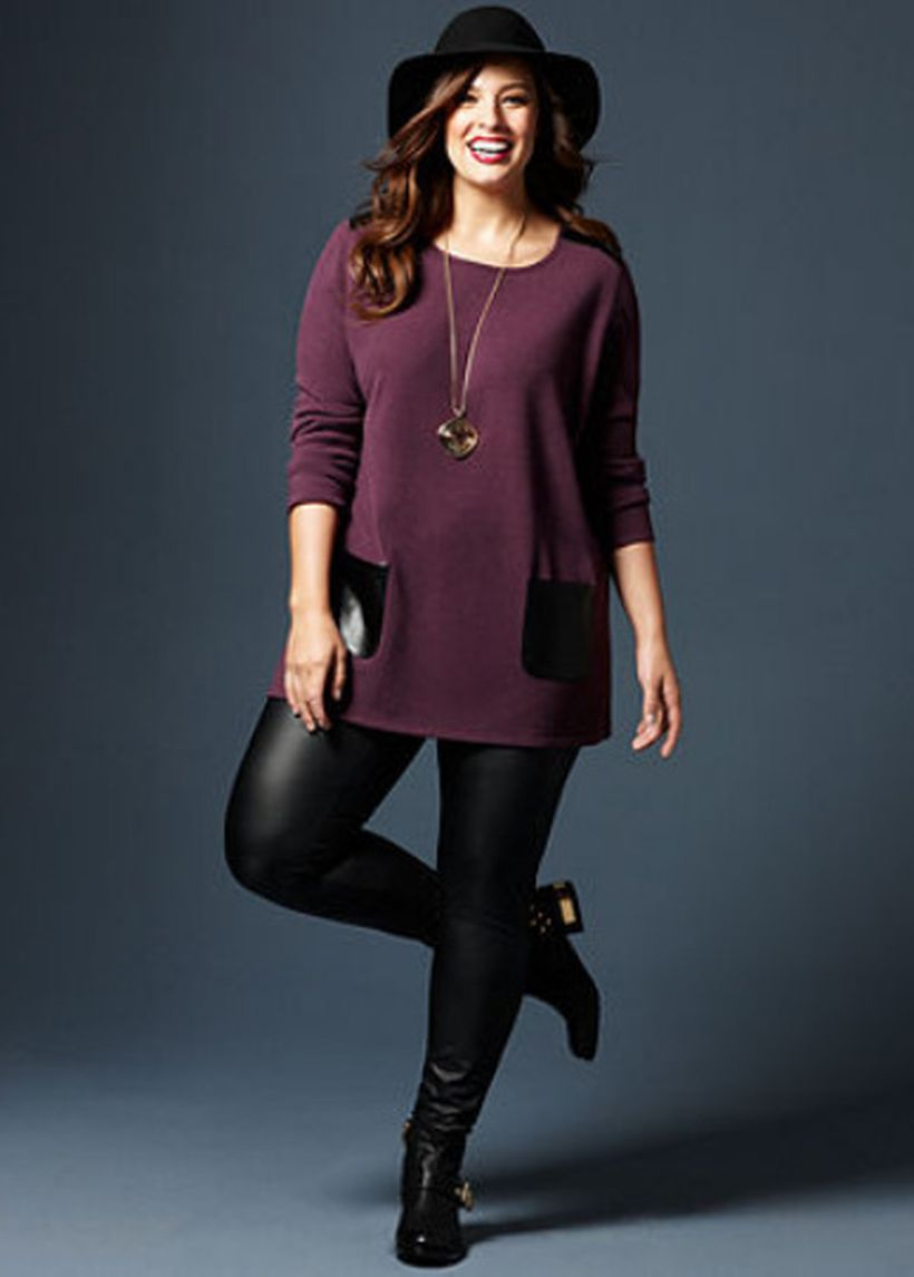Stylish plus size outfits for winter 2017 137
