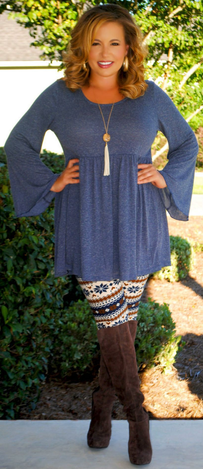 Stylish plus size outfits for winter 2017 29