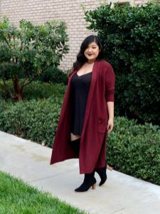 Stylish plus size outfits for winter 2017 33