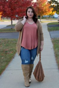 Stylish plus size outfits for winter 2017 45