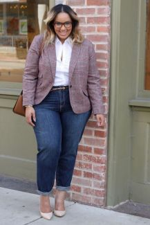 Stylish plus size outfits for winter 2017 51