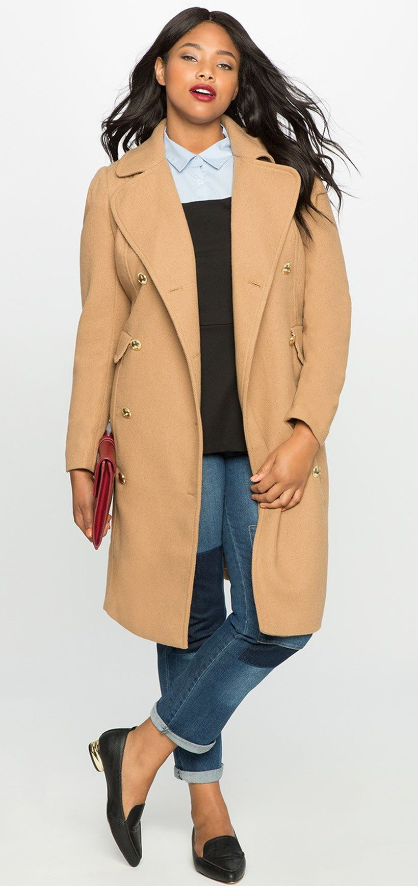 Stylish plus size outfits for winter 2017 54