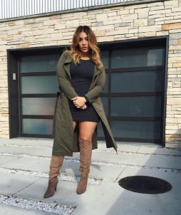 Stylish plus size outfits for winter 2017 58