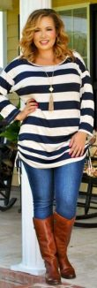 Stylish plus size outfits for winter 2017 6