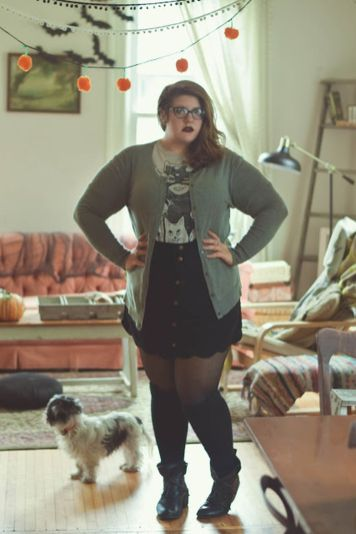 Stylish plus size outfits for winter 2017 74