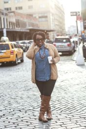 Stylish plus size outfits for winter 2017 92