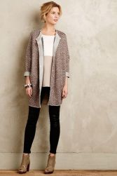 Tips how to wear cardigans and leggings in this fall 26