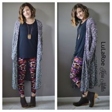 Tips how to wear cardigans and leggings in this fall 56