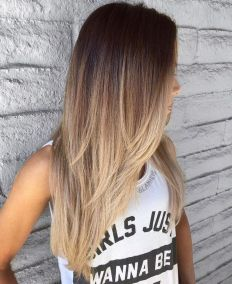 Trendy ombre hair coloring that must you try 24