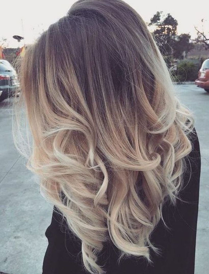 Trendy ombre hair coloring that must you try 46