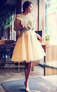 Vintage chic fashion outfits ideas 16