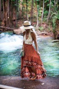 Vintage chic fashion outfits ideas 17
