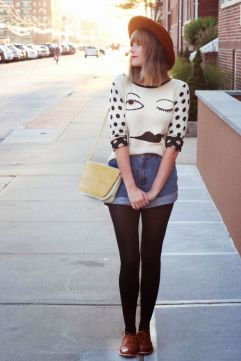 Vintage chic fashion outfits ideas 29