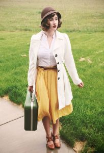 Vintage chic fashion outfits ideas 66