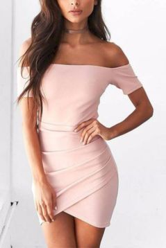 Formal midi dresses outfits 17