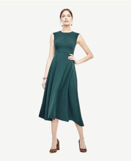 Formal midi dresses outfits 18