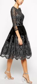 Formal midi dresses outfits 21