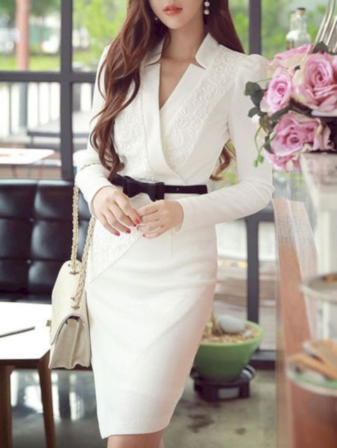 Formal midi dresses outfits 25