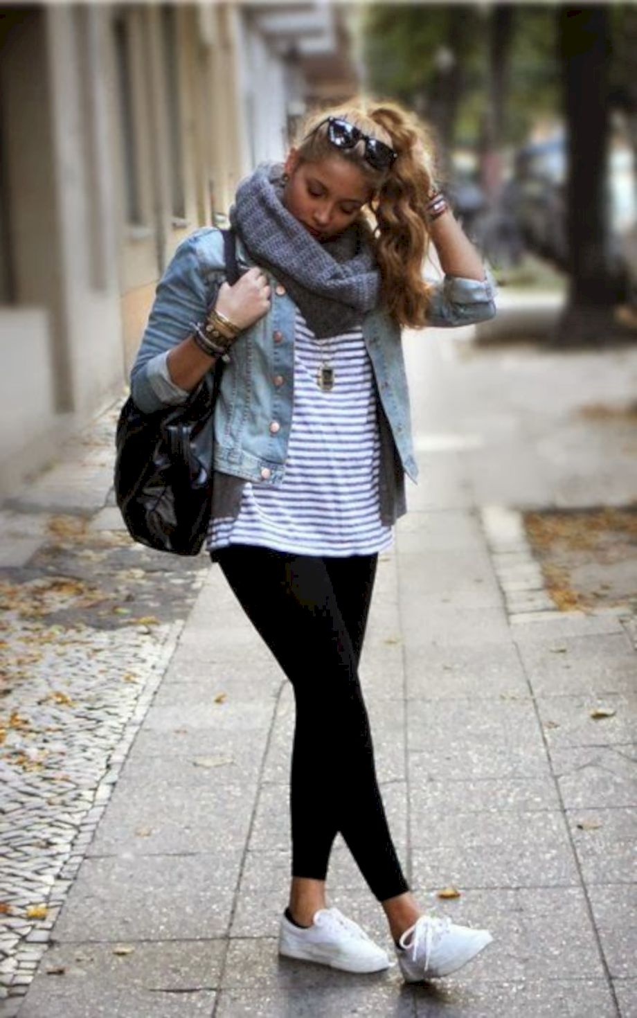 Outfits with leggings 11