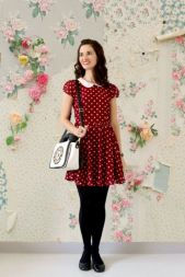Polkadot short dress 15