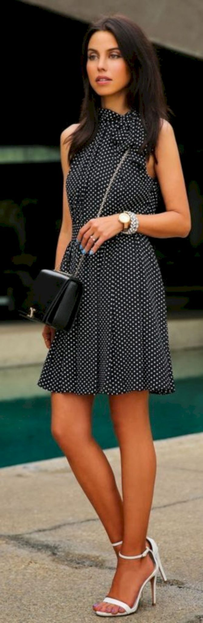 Polkadot short dress 31