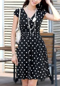 Polkadot short dress 32
