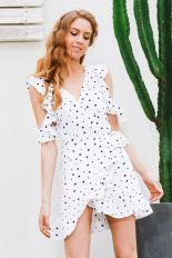 Polkadot short dress 39