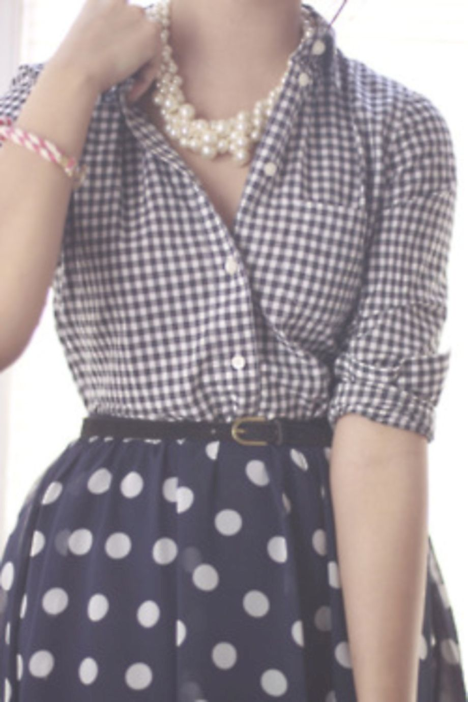 Polkadot short dress 45