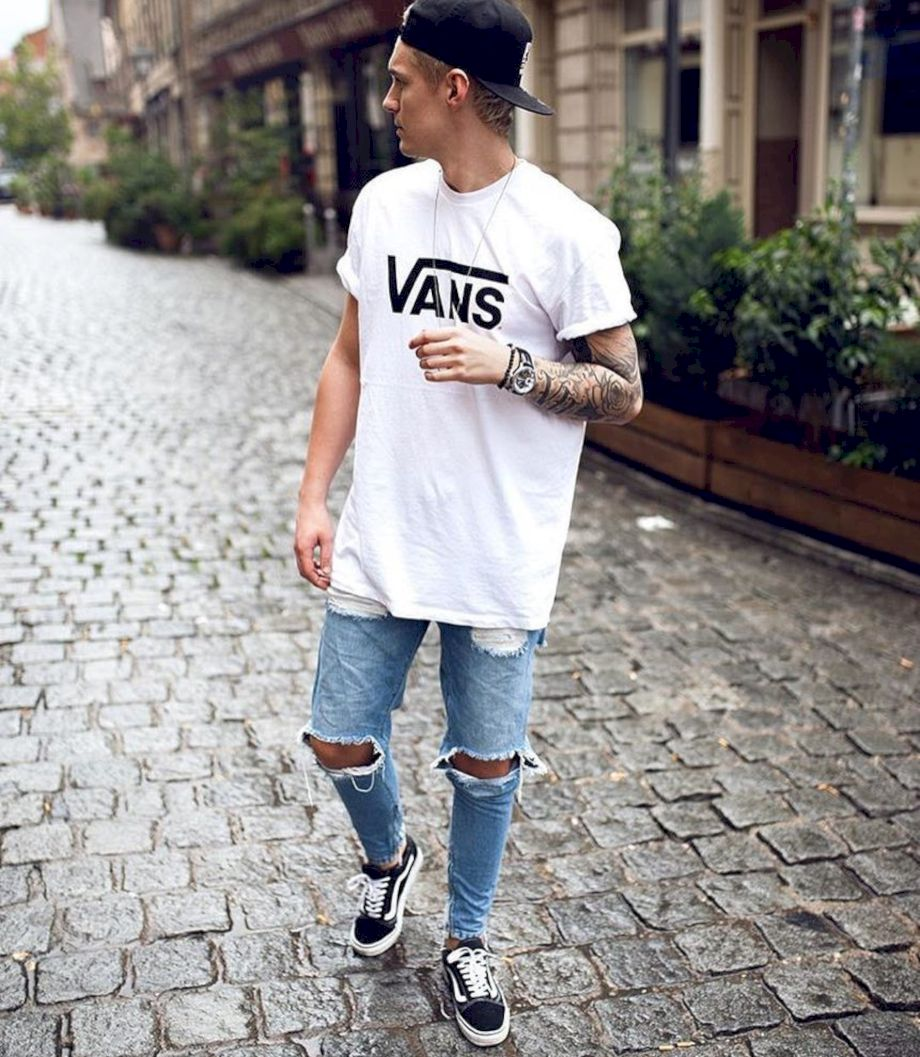Ripped jeans for men 35