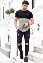 Ripped jeans for men 38