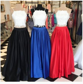 Two pieces dress that make you look fabulous 11