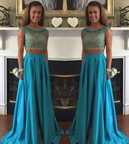 Two pieces dress that make you look fabulous 25