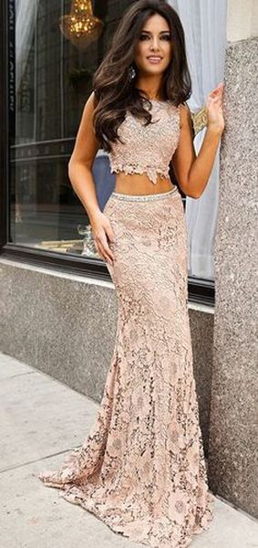 Two pieces dress that make you look fabulous 8
