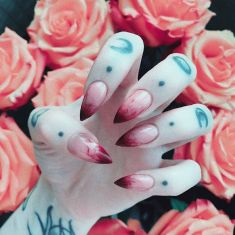 Halloween nails that you must try at halloween party 7