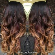 Inspiring haircolor style for winter and fall 58