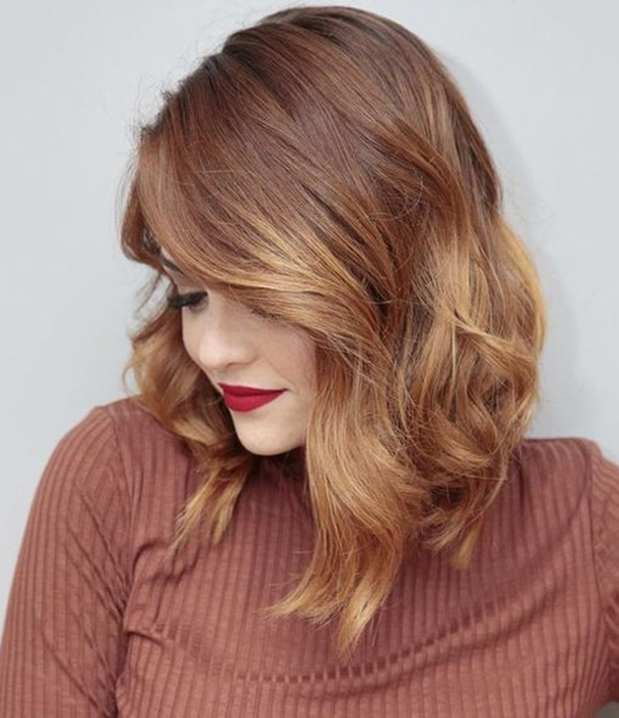 Inspiring haircolor style for winter and fall 70