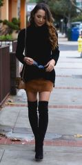 Skirt trends ideas for winter outfits this year 16