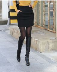 Skirt trends ideas for winter outfits this year 17