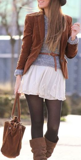 Skirt trends ideas for winter outfits this year 26