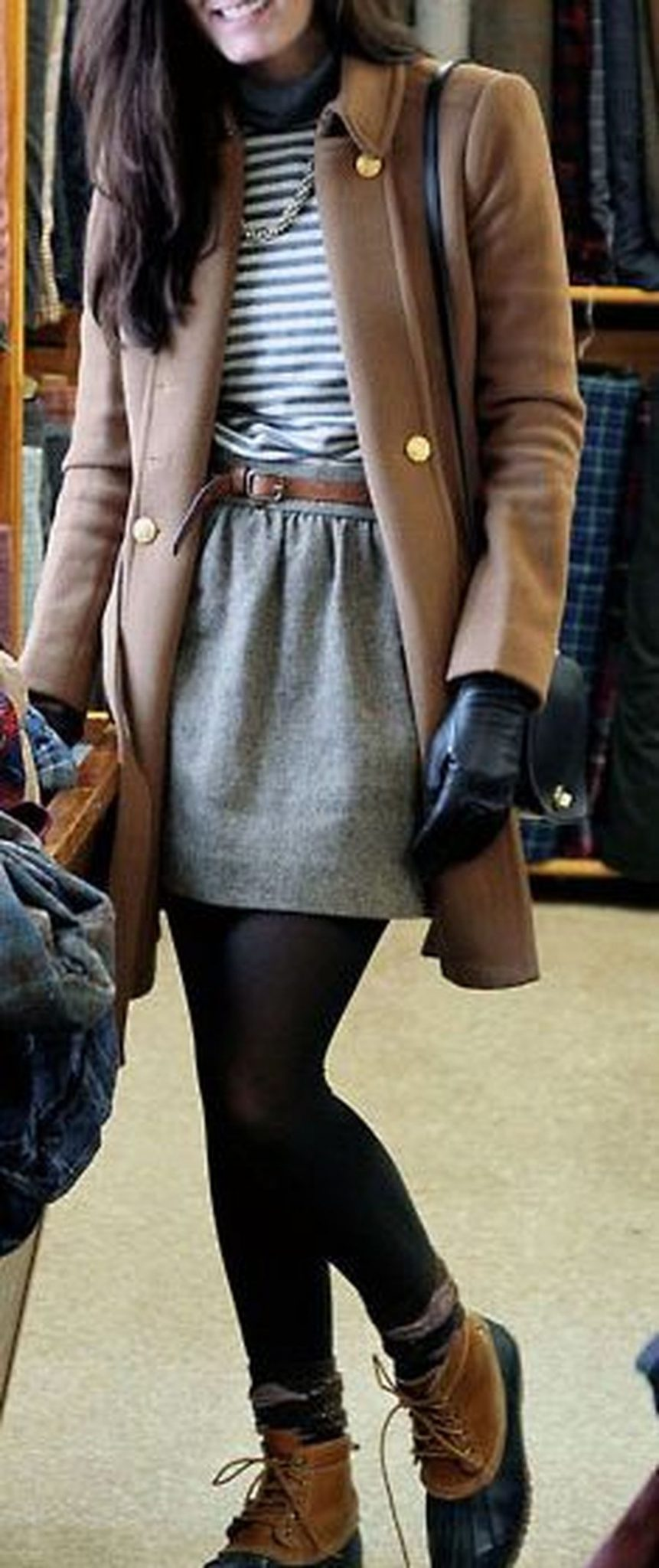 Skirt trends ideas for winter outfits this year 32