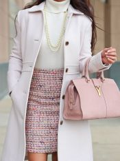 Skirt trends ideas for winter outfits this year 41