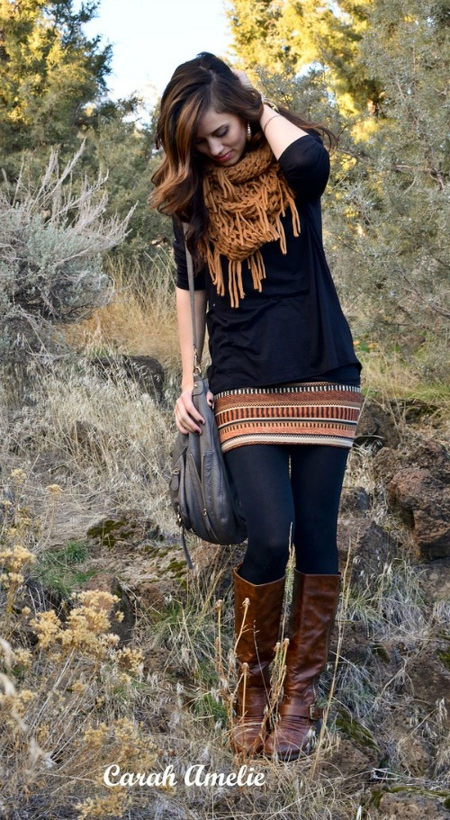 Skirt trends ideas for winter outfits this year 68