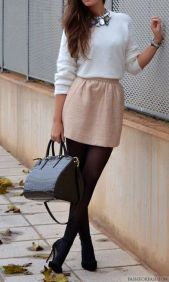 Skirt trends ideas for winter outfits this year 70