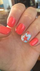 Cool holiday nails arts 40