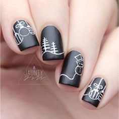 Cool holiday nails arts 62