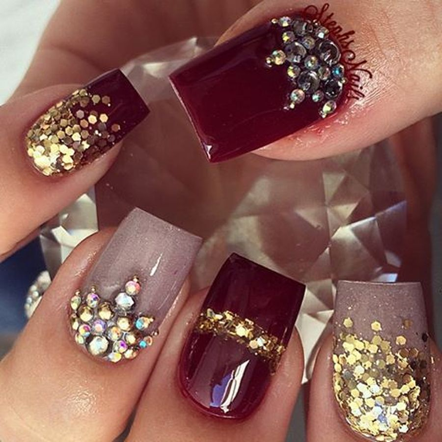 Cool holiday nails arts 74 - Fashion Best