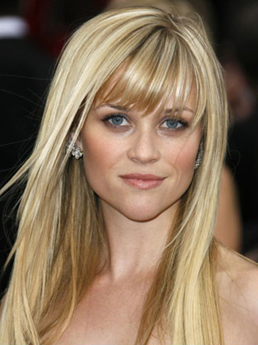Cool hair style with feathered bangs ideas 30