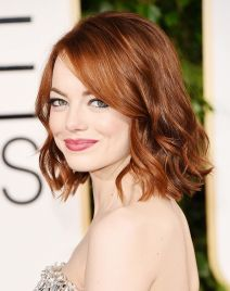 Cool hair style with feathered bangs ideas 35